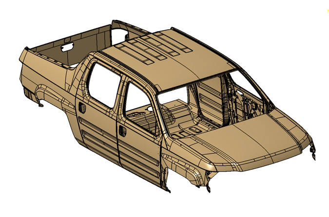Compter Rendering of Automotive Body Panels